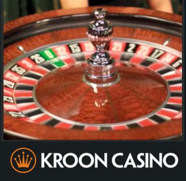 Roulette spelen bij Kroon Casino